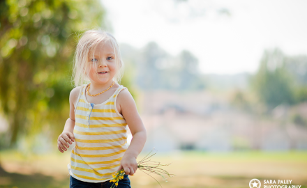 three year old girl, natural light, sunny day