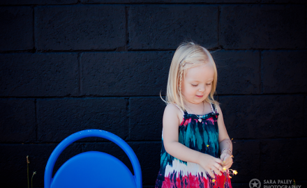 2nd birthday outdoor portraits